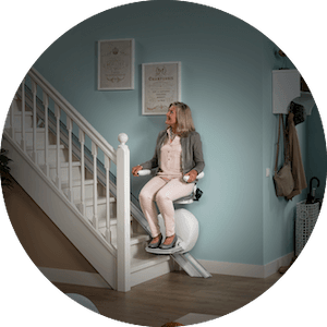 Battery operated stairlift
