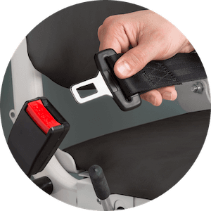 Easy to use safety belt